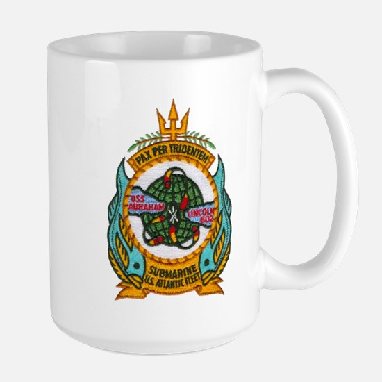 USS ABRAHAM LINCOLN Large Mug