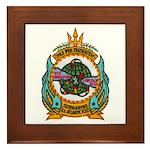 USS ABRAHAM LINCOLN Framed Tile