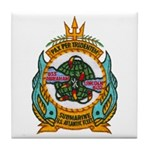 USS ABRAHAM LINCOLN Tile Coaster