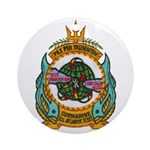 USS ABRAHAM LINCOLN Ornament (Round)