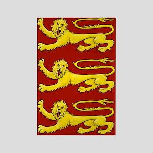 Plantagenet Lions Rectangle Magnet