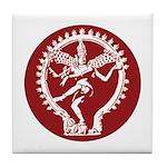 Dancing Shiva Tile Coaster