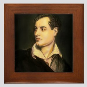 Isn't it Byronic? Framed Tile