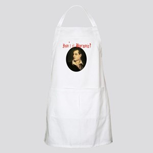 Isn't it Byronic? Apron