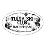 Tulsa Ski Club Sticker (Oval 10 pk)