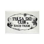 Tulsa Ski Club Rectangle Magnet