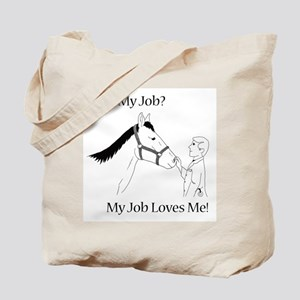 Equine Veterinarian (male) Tote Bag