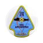 "USS ARCHERFISH 3.5"" Button"