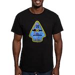 USS ARCHERFISH Men's Fitted T-Shirt (dark)