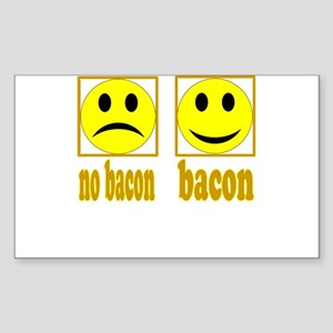 Hoo-Ray For Bacon Sticker (Rectangle)