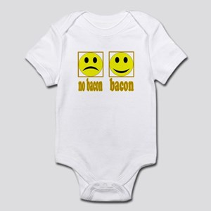 Hoo-Ray For Bacon Infant Bodysuit