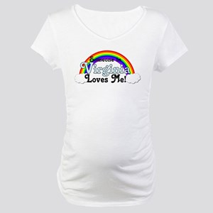 Someone in Virginia Loves Me Maternity T-Shirt