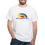 The Rainbow Kids White T-Shirt