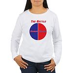Half The Battle Women's Long Sleeve T-Shirt