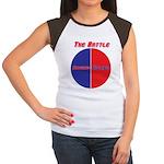 Half The Battle Women's Cap Sleeve T-Shirt