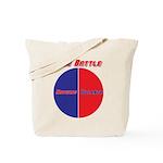 Half The Battle Tote Bag