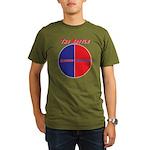 Half The Battle Organic Men's T-Shirt (dark)