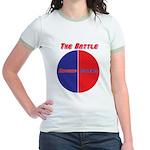 Half The Battle Jr. Ringer T-Shirt