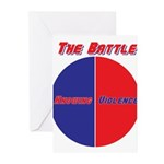 Half The Battle Greeting Cards (Pk of 20)