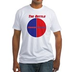 Half The Battle Fitted T-Shirt