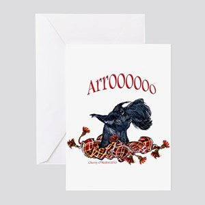 Arroo Scottish Terrier Greeting Cards (Pk of 20)