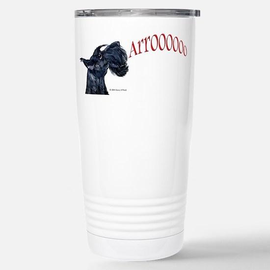 Arroo Scottish Terrier Stainless Steel Travel Mug