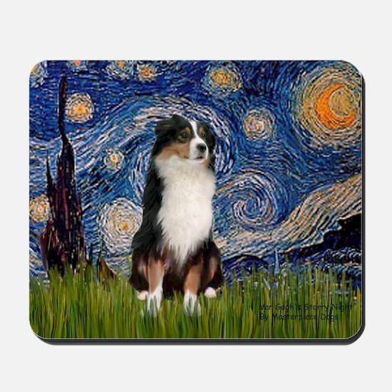 Starry/Australian Shep #2 Mousepad