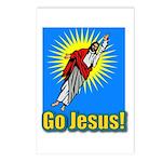 Go Jesus Postcards (Package of 8)