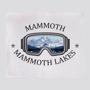 Mammoth - Mammoth Lakes - Californ Throw Blanket