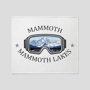 Mammoth - Mammoth Lakes - Californ Throw Blanket