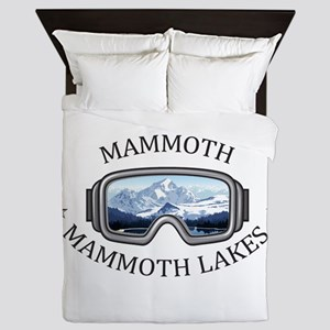 Mammoth - Mammoth Lakes - California Queen Duvet