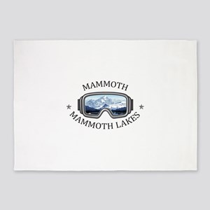 Mammoth - Mammoth Lakes - Califor 5'x7'Area Rug