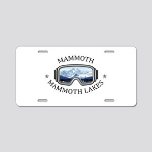 Mammoth - Mammoth Lakes - Aluminum License Plate