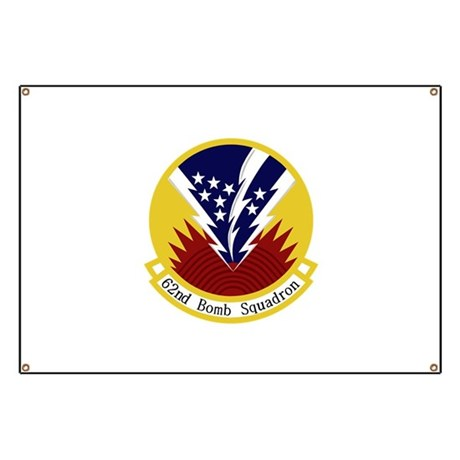 62nd Bomb Squadron Banner