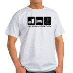 Eat, Sleep, Avoid Priests Light T-Shirt