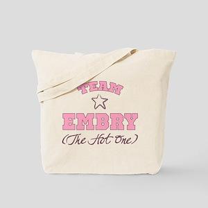 Hot Team Embry Tote Bag