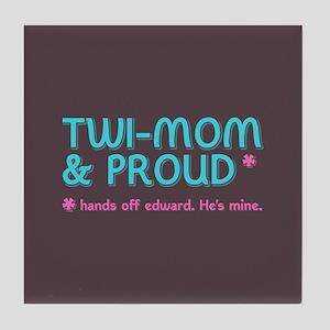 Twi-Mom for Edward Tile Coaster