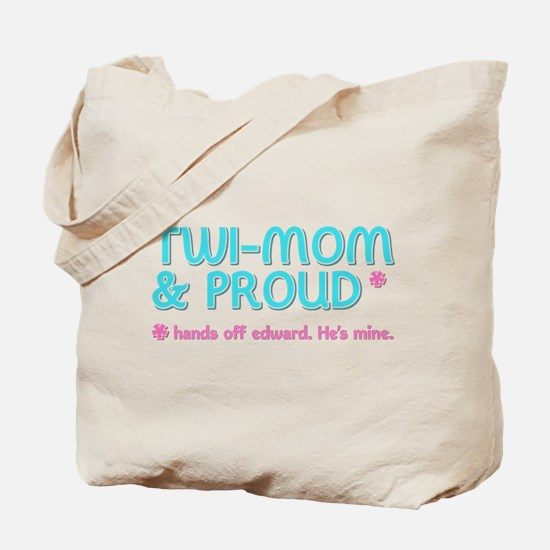 Twi-Mom for Edward Tote Bag