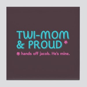 Twi-Mom for Jacob Tile Coaster