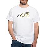 2010 Bike White T-Shirt