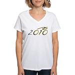 2010 Bike Women's V-Neck T-Shirt