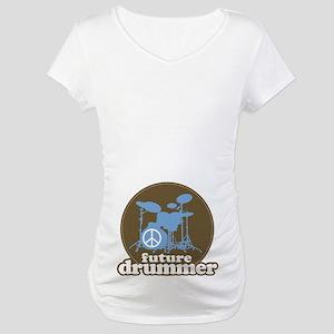 Future Drummer Cute Maternity T-Shirt