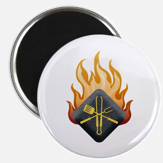 """Grill Master 2.25"""" Magnet (10 pack)"""
