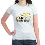 Lance's Final Tour Jr. Ringer T-Shirt