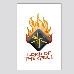 Grill Master Postcards (Package of 8)