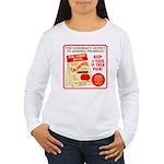 Climbing Cajones Women's Long Sleeve T-Shirt