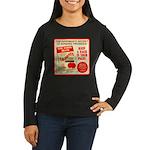 Climbing Cajones Women's Long Sleeve Dark T-Shirt