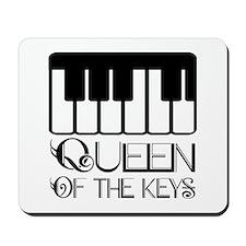 Piano Queen Of Keys Mousepad