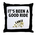It's Been a Good Ride Throw Pillow