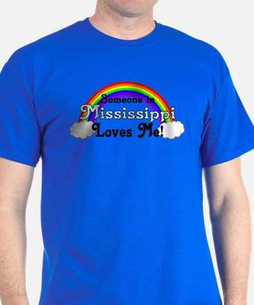 Someone in MS Loves Me T-Shirt
